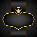 Royal black background Stock Photo