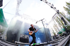 Royal Blood (British rock duo band formed in Worthing) concert at Dcode Festival Stock Images