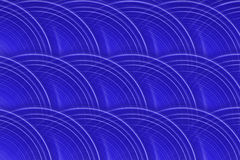 Royal Blue Circular Background Stock Photos