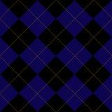 Royal Blue Diamond Background Stock Photography