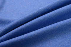 Royal blue green made by cotton fiber Stock Photo