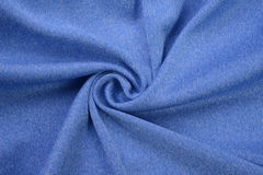 Royal blue made by cotton fiber Stock Images