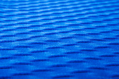 Royal Blue Patch of the Cloth Stock Image