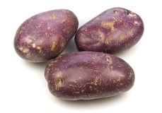 Royal Blue Potatoes Stock Photos