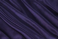 Royal blue silk texture Royalty Free Stock Image