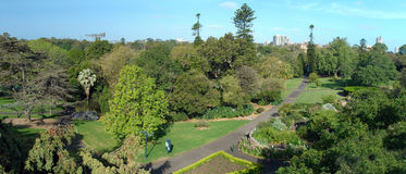 Royal Botanic Gardens Stock Photo
