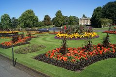 Royal Botanic Gardens, Kew Landscape, London, England Stock Photo