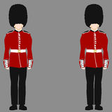 Royal British Guard Stock Photos