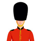 Royal British guard Royalty Free Stock Image