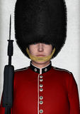 Royal British Guardsman Stock Photos