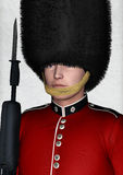 Royal British Guardsman Stock Photo