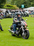 Royal British Legion Rider Stock Photo