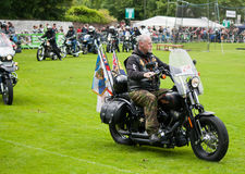Royal British Legion Rider Stock Photos