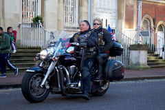Royal Britsh Legion bikers Stock Photography