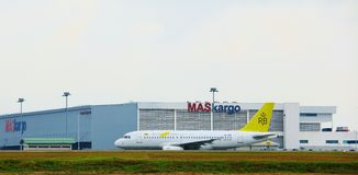 Royal Brunei Airbus A319 Royalty Free Stock Photography