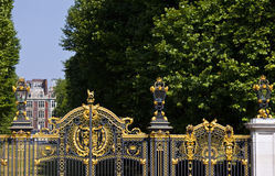 Royal Canada Gates and Green Park Stock Image