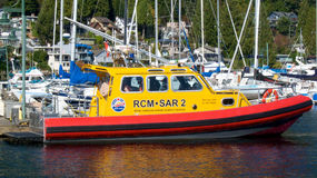 Royal Canadian Marine Search and Rescue Royalty Free Stock Photos