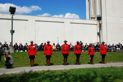 Royal Canadian Mounted Police royalty free stock photos