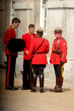 Royal Canadian Mounted Police Royalty Free Stock Images