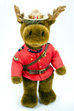 Royal Canadian Mounted Police Moose Soft Toy Stock Images