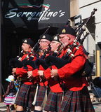 Royal Canadian Mounted Police Pipe Band Royalty Free Stock Images