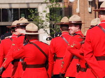 Royal Canadian Mounted Police - RCMP Royalty Free Stock Photography