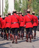 Royal Canadian Mounted Police - RCMP Stock Image