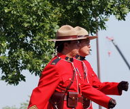 Royal Canadian Mounted Police - RCMP Royalty Free Stock Photo