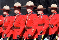 Royal Canadian Mounted Police Or RCMP Stock Photos