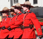 Royal Canadian Mounted Police Or RCMP Stock Image