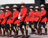 Royal Canadian Mounted Police Or RCMP Royalty Free Stock Image