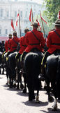 Royal Canadian Mounties Stock Images