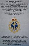 Royal Canadian Navy Memorial in Halifax Royalty Free Stock Photo
