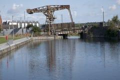 Royal Canal, Docklands, Dublin Stock Photos