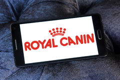 Royal canin pet food logo Royalty Free Stock Photos