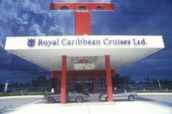 The Royal Caribbean Cruise in Miami, Florida Royalty Free Stock Photo