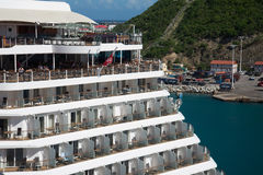 Royal Caribbean cruise ship Royalty Free Stock Photos