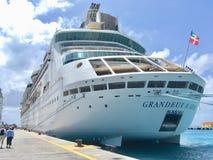 Royal Caribbean cruise ship stock photo