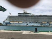 Royal Caribbean cruise stop royalty free stock photo