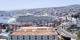 Royal Caribbean cruiser ship Stock Photography
