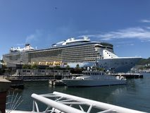 Royal Caribbean Cruises royalty free stock photography