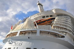 Royal Caribbean's Allure of the Seas royalty free stock photography