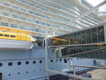 Royal Caribbean's Allure of the Seas royalty free stock photo