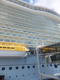 Royal Caribbean's Allure of the Seas Royalty Free Stock Image