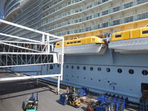 Royal Caribbean's Allure of the Seas royalty free stock images