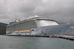 Royal Caribbean's Allure of the Seas stock photo