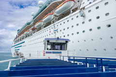 Royal Caribbean`s Majesty of the Seas Royalty Free Stock Photo
