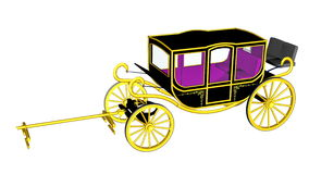 Royal carriage Royalty Free Stock Photo