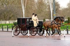 Free Royal Carriage In Buckingham Garden, London, UK. Stock Photography - 140820502