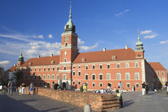 Royal Castle. In Old Town, Warsaw, Poland Stock Photos